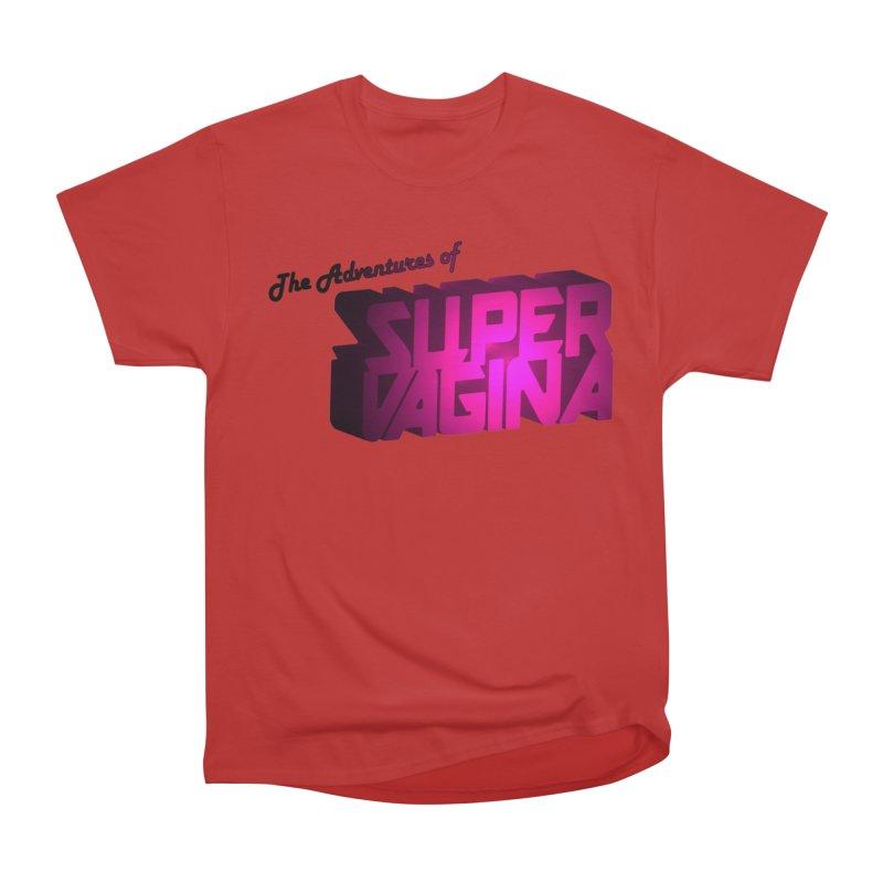 The Adventures of Super Vagina Men's Heavyweight T-Shirt by Demeter Designs Artist Shop