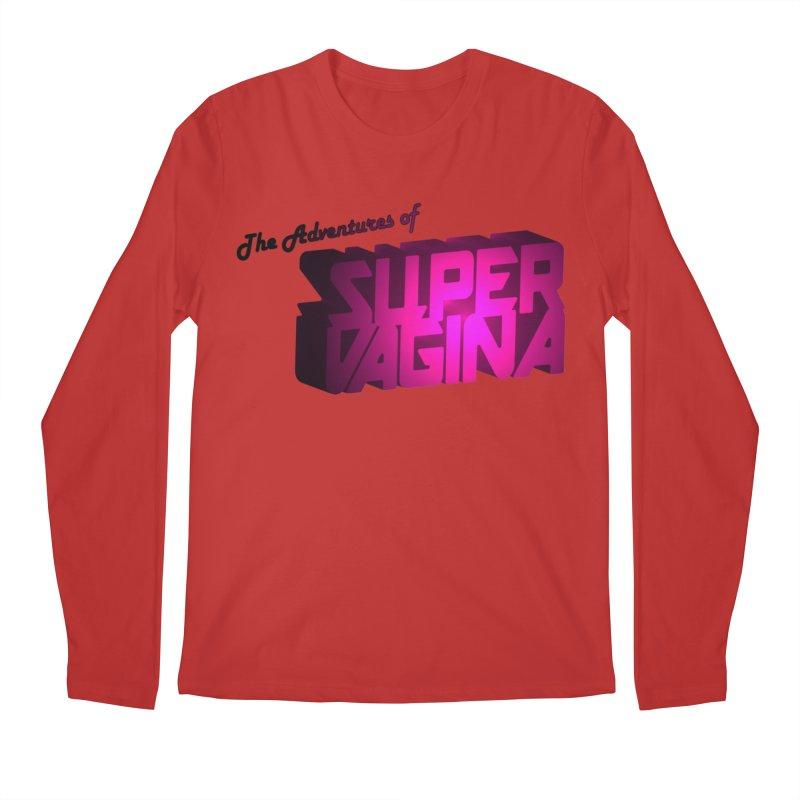 The Adventures of Super Vagina Men's Regular Longsleeve T-Shirt by Demeter Designs Artist Shop