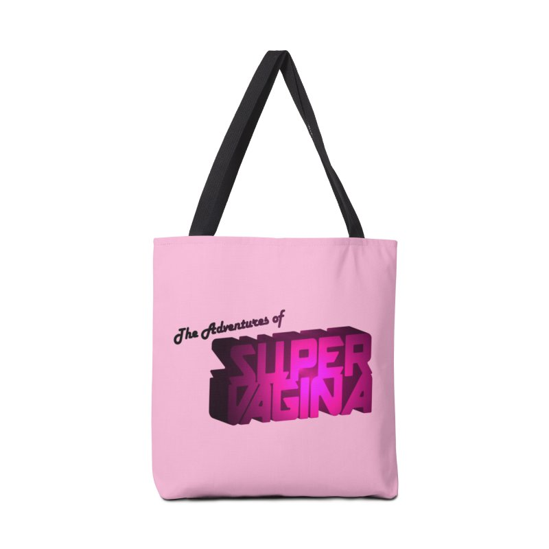 The Adventures of Super Vagina Accessories Bag by Demeter Designs Artist Shop