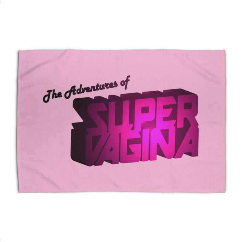The Adventures of Super Vagina Home Rug by Demeter Designs Artist Shop