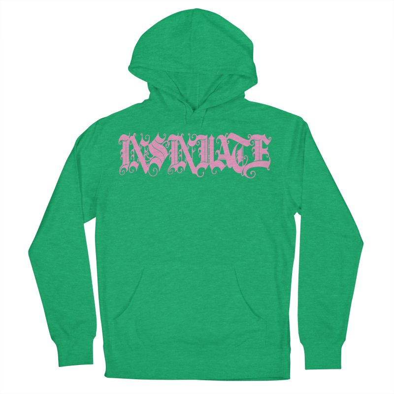INSINUATE Women's French Terry Pullover Hoody by Demeter Designs Artist Shop