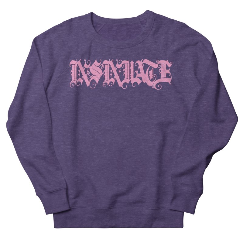 INSINUATE Men's French Terry Sweatshirt by Demeter Designs Artist Shop