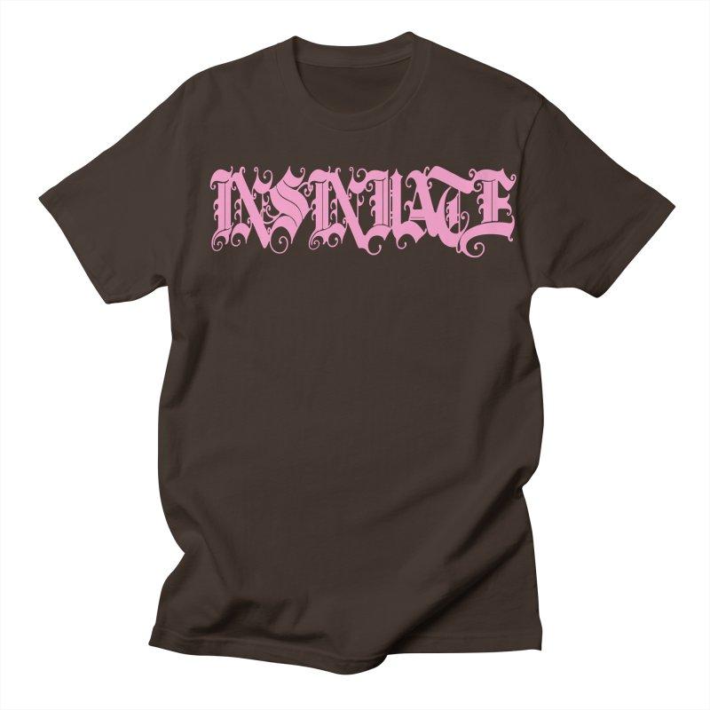 INSINUATE Men's Regular T-Shirt by Demeter Designs Artist Shop