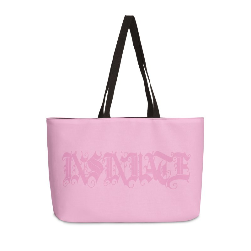 INSINUATE Accessories Weekender Bag Bag by Demeter Designs Artist Shop