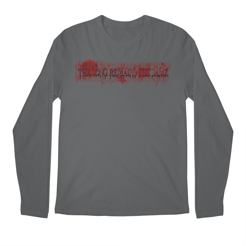 The Song Remains The Same Men's Regular Longsleeve T-Shirt by Demeter Designs Artist Shop