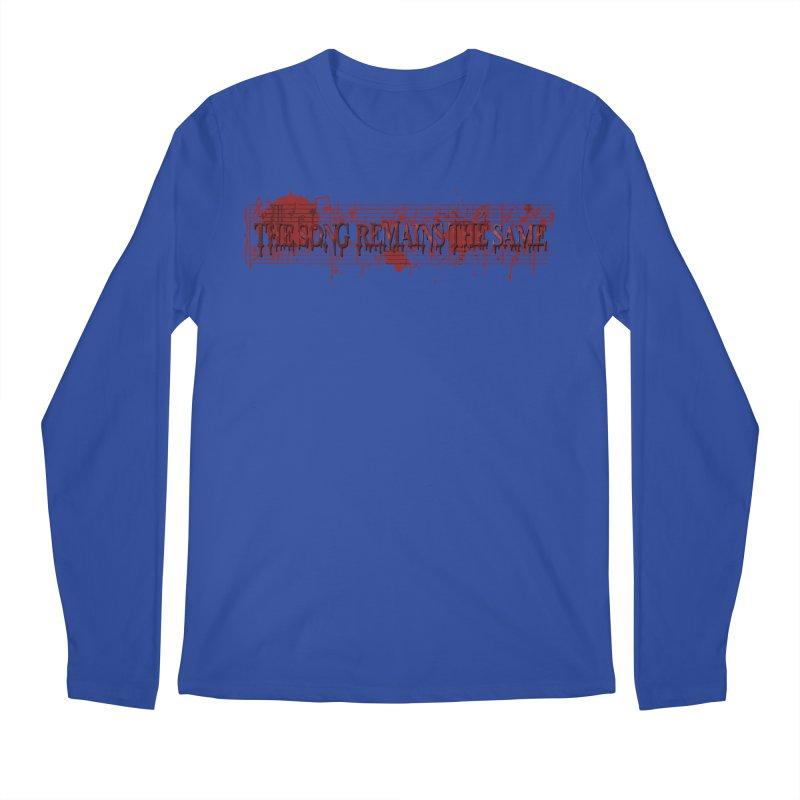 The Song Remains The Same Men's Regular Longsleeve T-Shirt by Demeter Designs Artist Shop