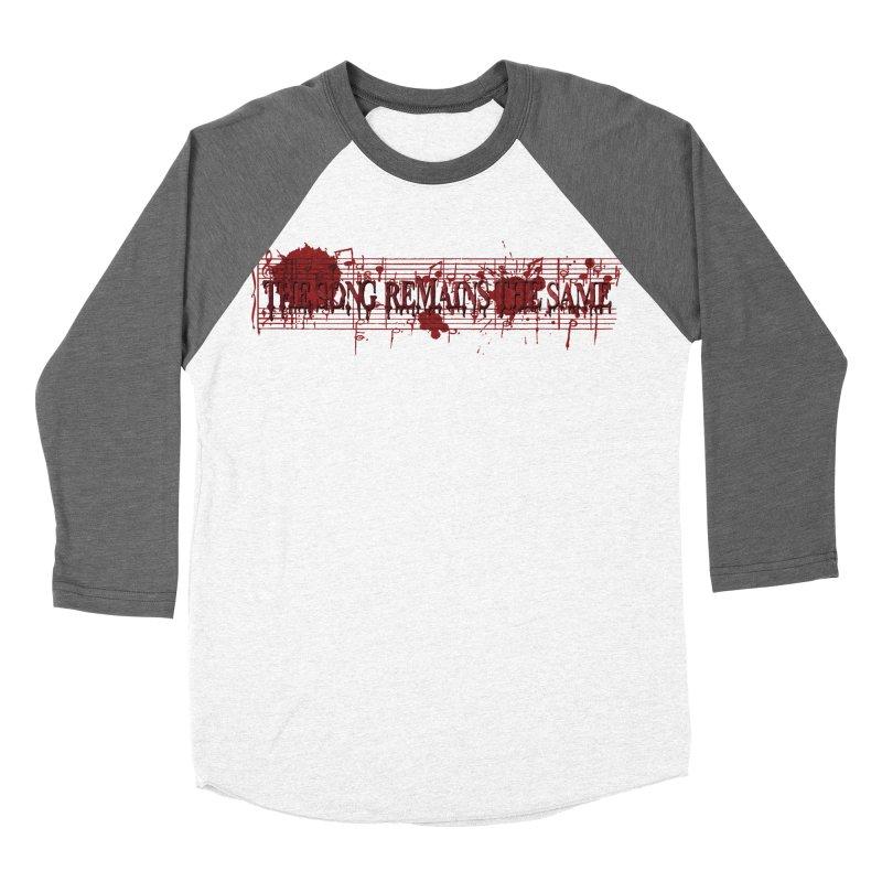The Song Remains The Same Women's Baseball Triblend Longsleeve T-Shirt by Demeter Designs Artist Shop