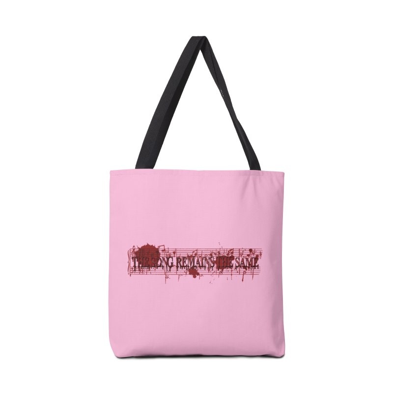 The Song Remains The Same Accessories Bag by Demeter Designs Artist Shop