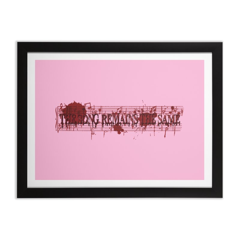 The Song Remains The Same Home Framed Fine Art Print by Demeter Designs Artist Shop