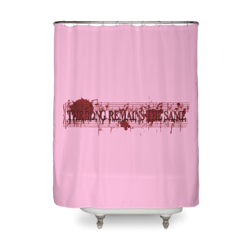 The Song Remains The Same Home Shower Curtain by Demeter Designs Artist Shop
