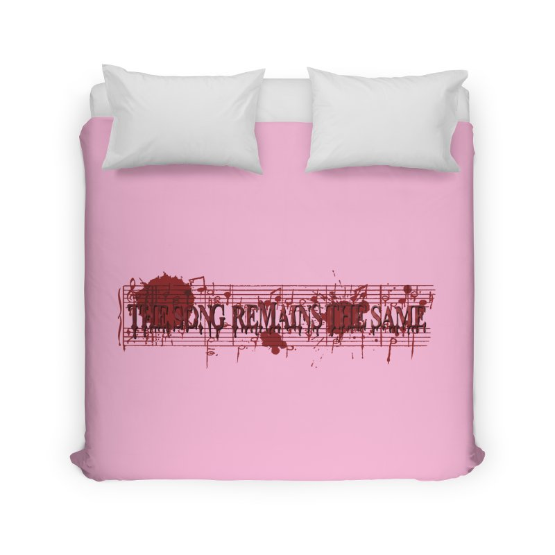 The Song Remains The Same Home Duvet by Demeter Designs Artist Shop