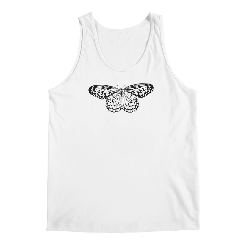 Transparent Men's Regular Tank by Demeter Designs Artist Shop
