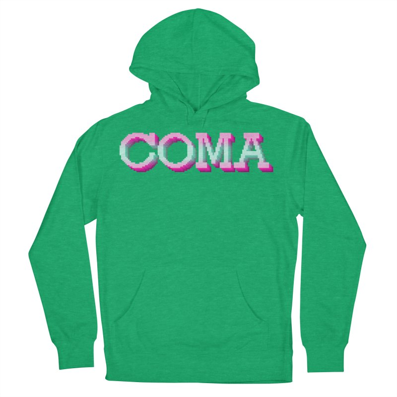 COMA Women's French Terry Pullover Hoody by Demeter Designs Artist Shop