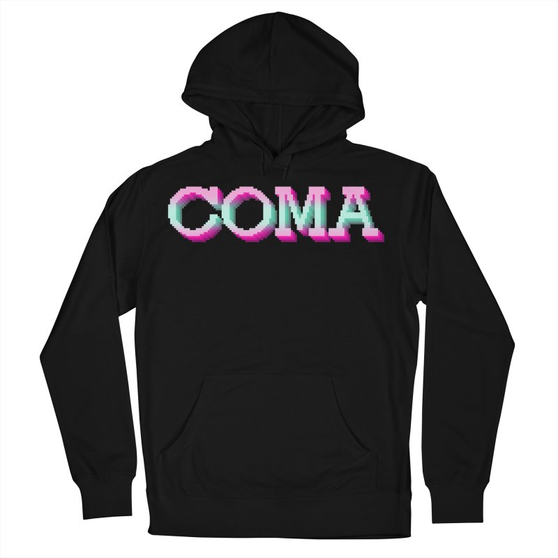COMA Men's French Terry Pullover Hoody by Demeter Designs Artist Shop