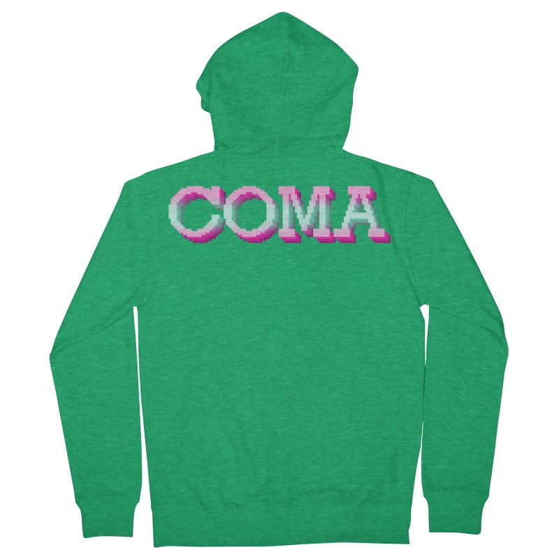 COMA Women's French Terry Zip-Up Hoody by Demeter Designs Artist Shop