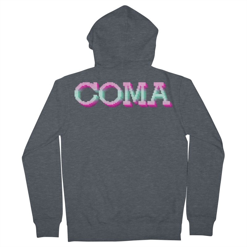 COMA Men's French Terry Zip-Up Hoody by Demeter Designs Artist Shop
