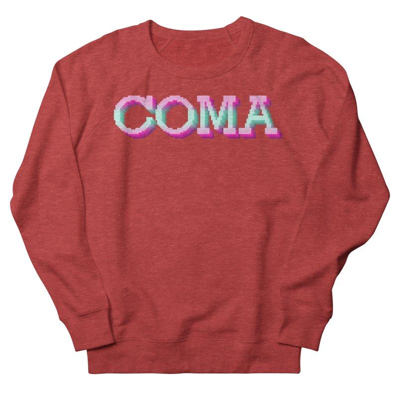 COMA Men's French Terry Sweatshirt by Demeter Designs Artist Shop