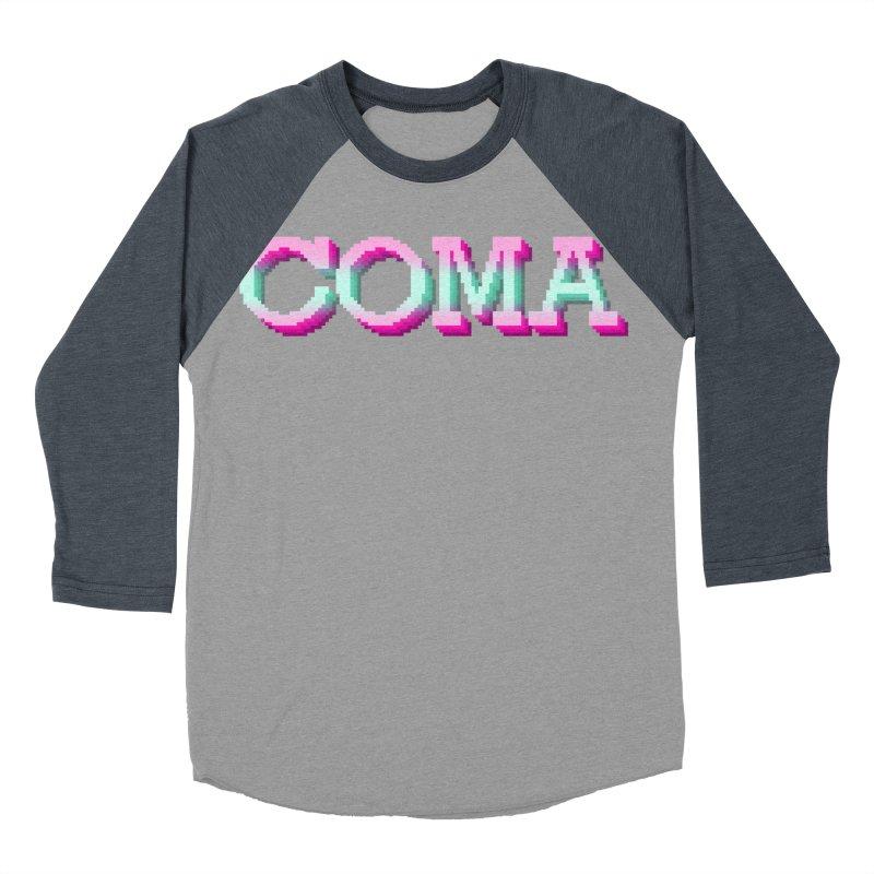 COMA Men's Baseball Triblend Longsleeve T-Shirt by Demeter Designs Artist Shop