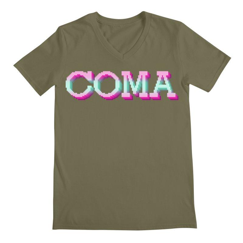COMA Men's Regular V-Neck by Demeter Designs Artist Shop