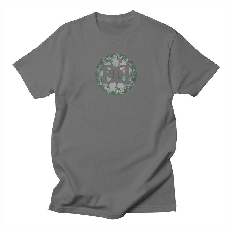DEED logo Trees Men's T-Shirt by Demeter Designs Artist Shop