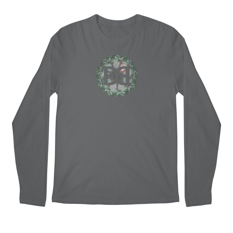 DEED logo Trees Men's Longsleeve T-Shirt by Demeter Designs Artist Shop