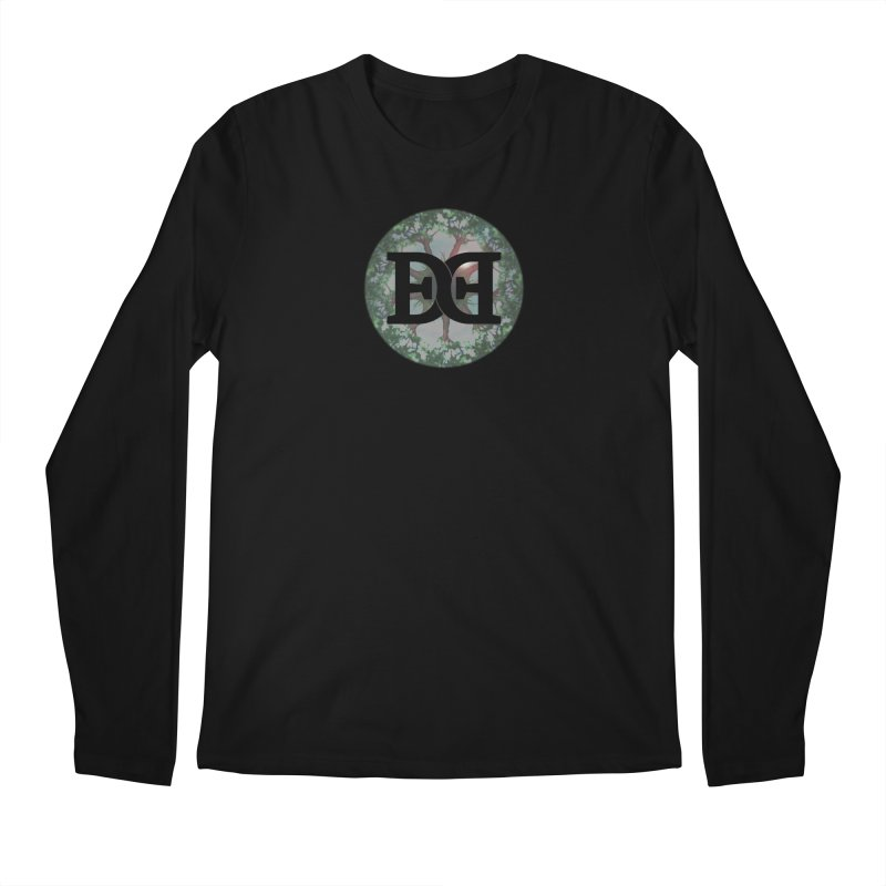 DEED logo Trees Men's Regular Longsleeve T-Shirt by Demeter Designs Artist Shop