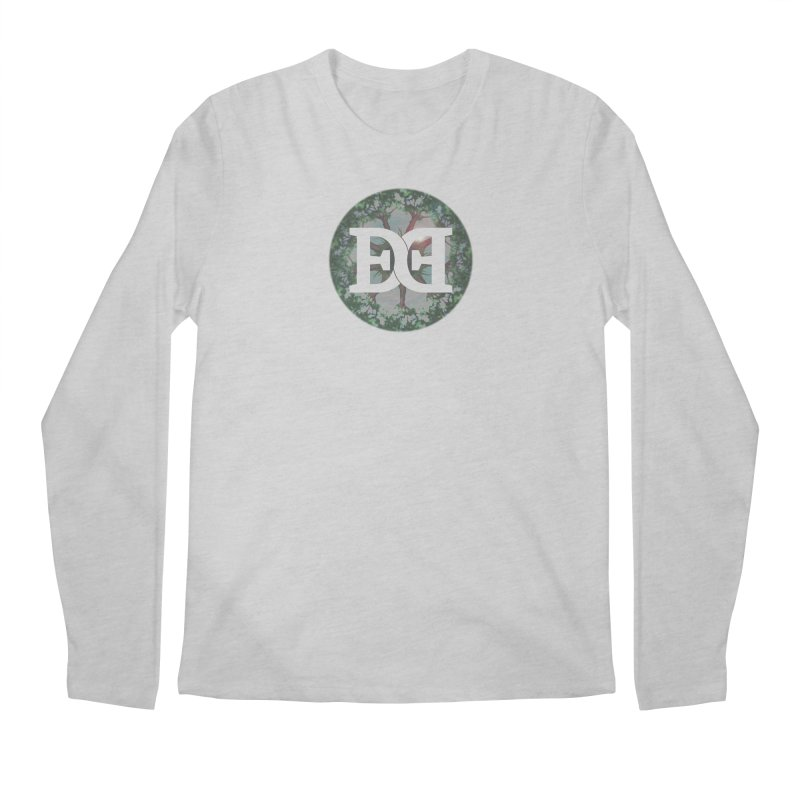DEED logo Trees Men's Regular Longsleeve T-Shirt by Demeter Designs Artist Shop