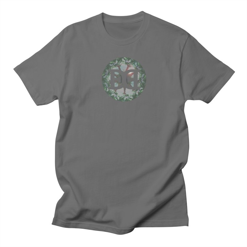 DEED logo Trees Men's Regular T-Shirt by Demeter Designs Artist Shop