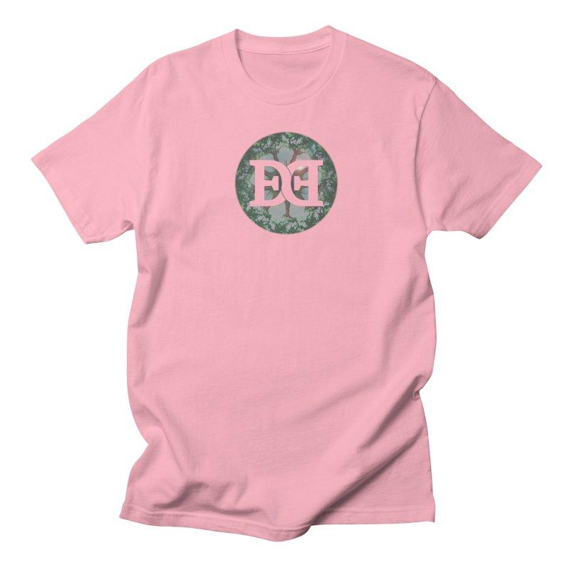 DEED logo Trees Women's Regular Unisex T-Shirt by Demeter Designs Artist Shop