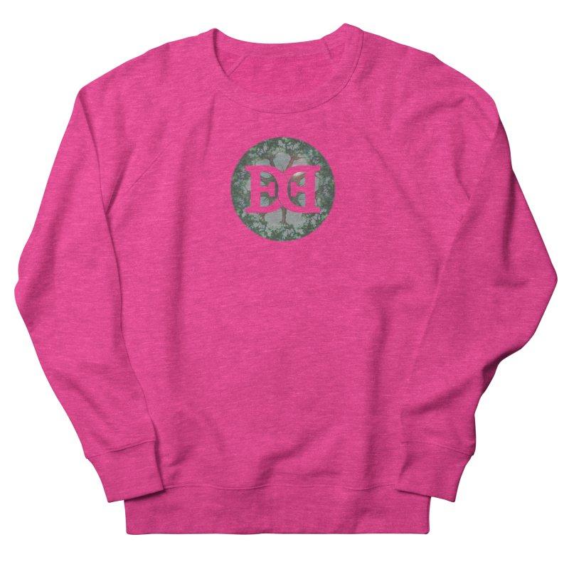 DEED logo Trees Men's French Terry Sweatshirt by Demeter Designs Artist Shop