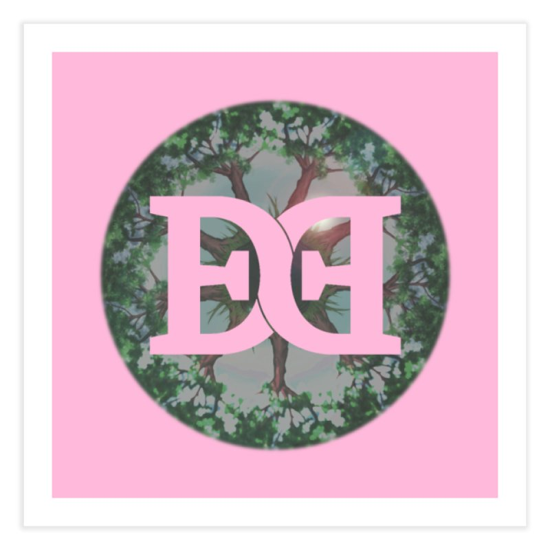 DEED logo Trees Home Fine Art Print by Demeter Designs Artist Shop
