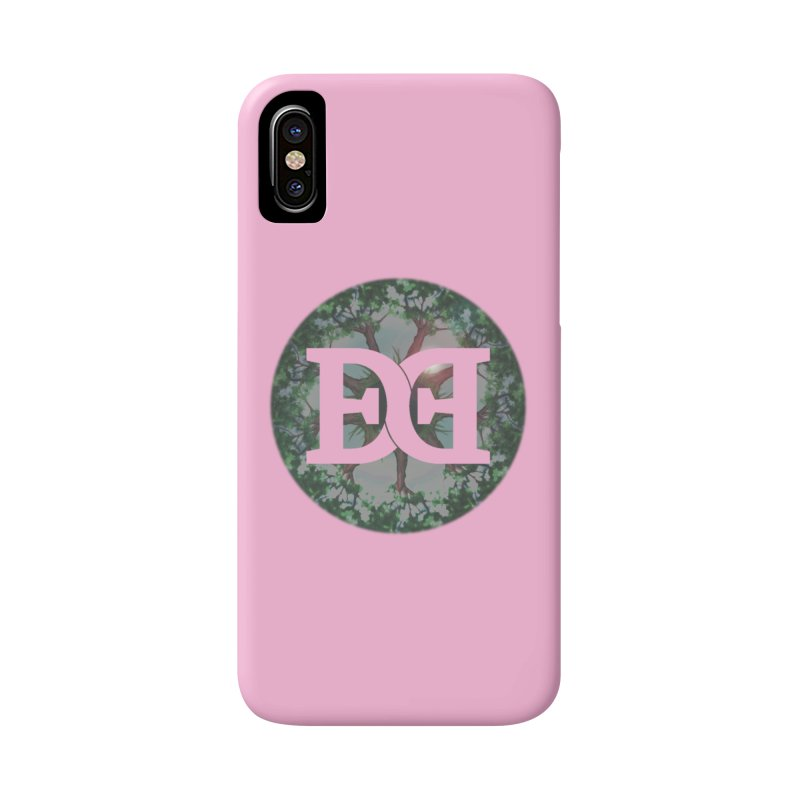 DEED logo Trees Accessories Phone Case by Demeter Designs Artist Shop