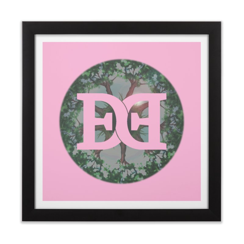 DEED logo Trees Home Framed Fine Art Print by Demeter Designs Artist Shop