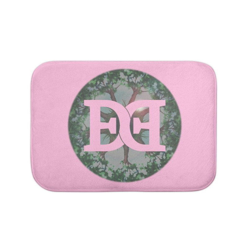 DEED logo Trees Home Bath Mat by Demeter Designs Artist Shop