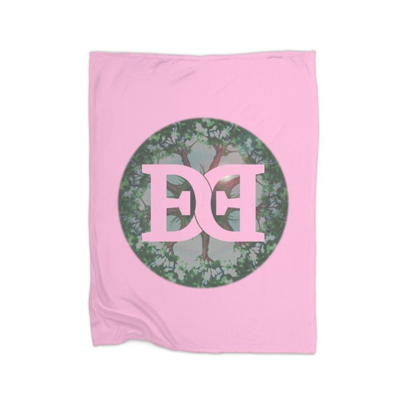 DEED logo Trees Home Blanket by Demeter Designs Artist Shop
