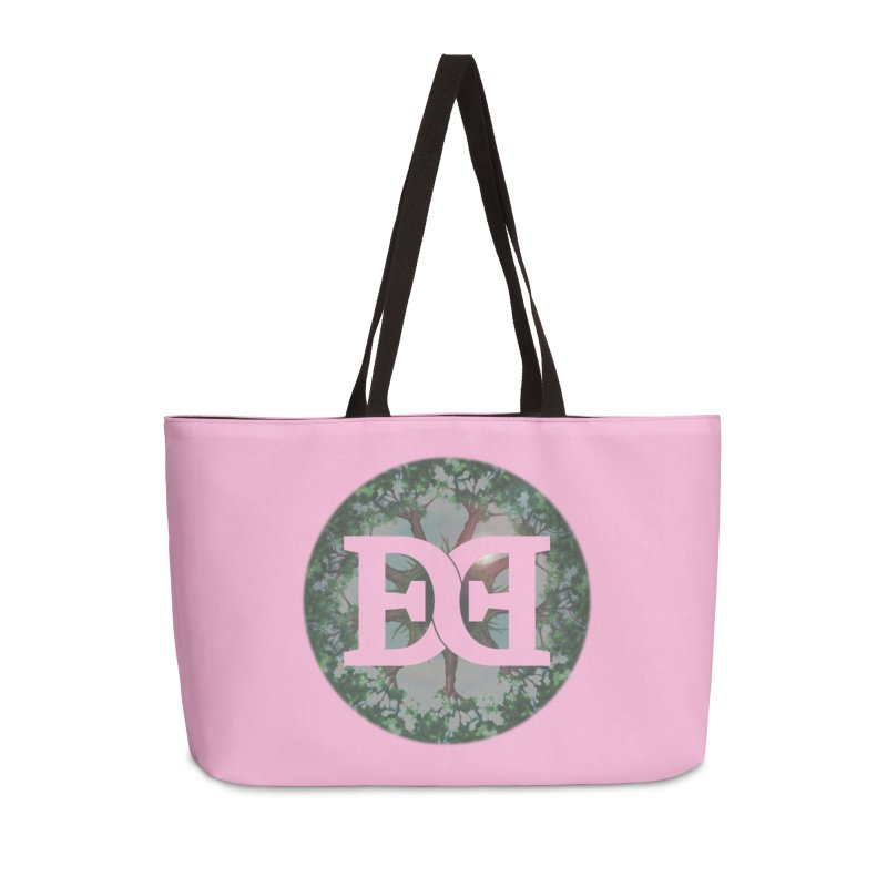 DEED logo Trees Accessories Bag by Demeter Designs Artist Shop
