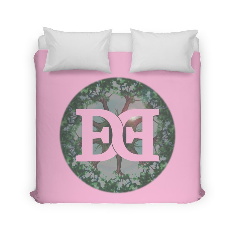 DEED logo Trees Home Duvet by Demeter Designs Artist Shop