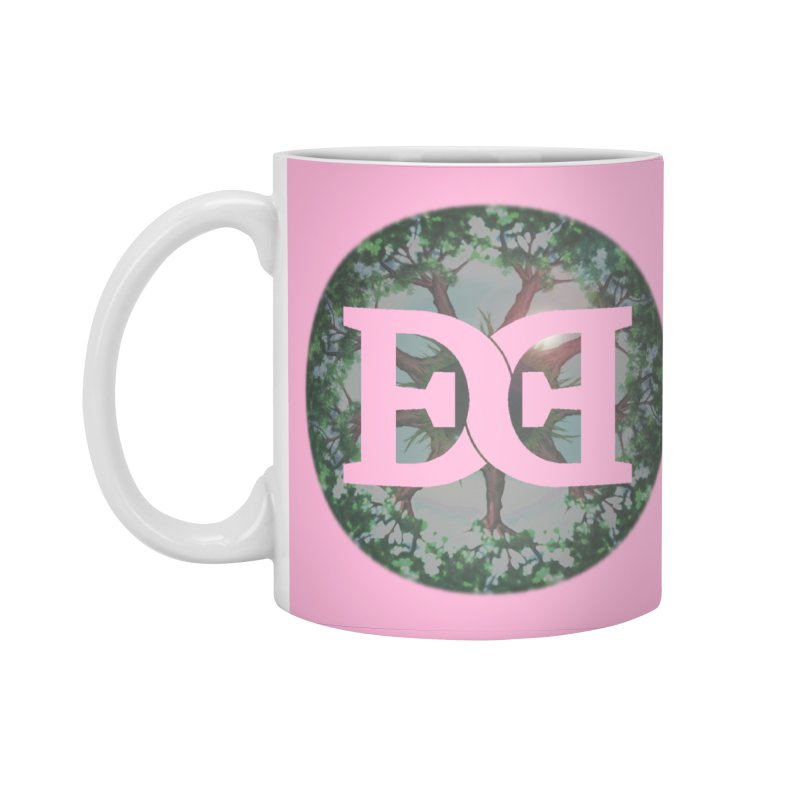 DEED logo Trees Accessories Standard Mug by Demeter Designs Artist Shop