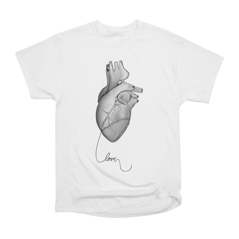 Sutures Men's Heavyweight T-Shirt by Demeter Designs Artist Shop
