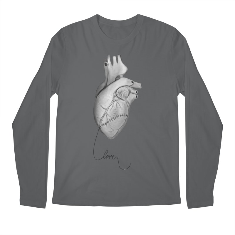 Sutures Men's Regular Longsleeve T-Shirt by Demeter Designs Artist Shop