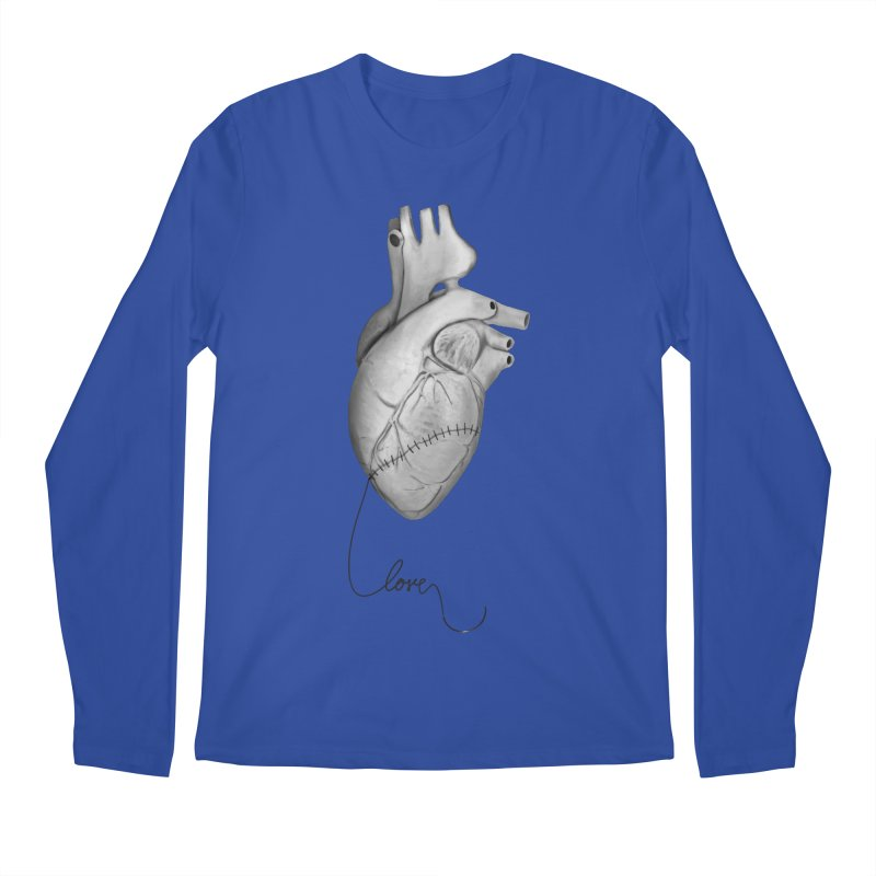 Sutures Men's Regular Longsleeve T-Shirt by Demeter Designs Artist Shop