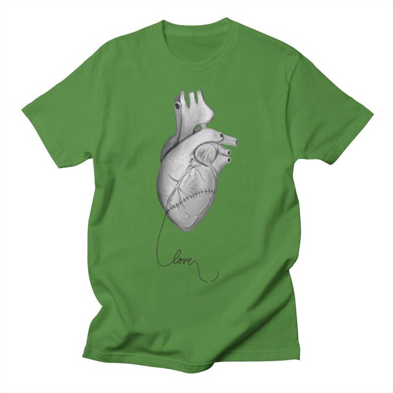 Sutures Women's Regular Unisex T-Shirt by Demeter Designs Artist Shop