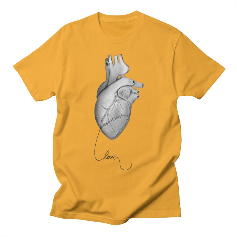 Sutures Men's Regular T-Shirt by Demeter Designs Artist Shop