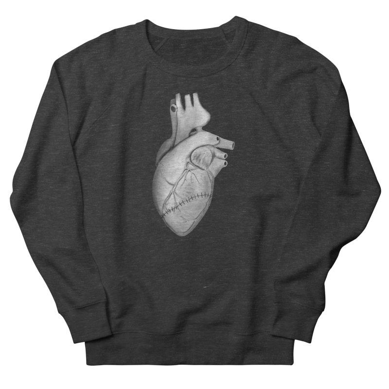 Sutures Women's French Terry Sweatshirt by Demeter Designs Artist Shop