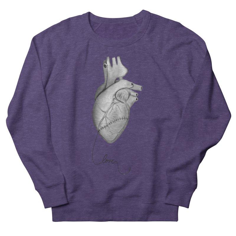 Sutures Men's French Terry Sweatshirt by Demeter Designs Artist Shop