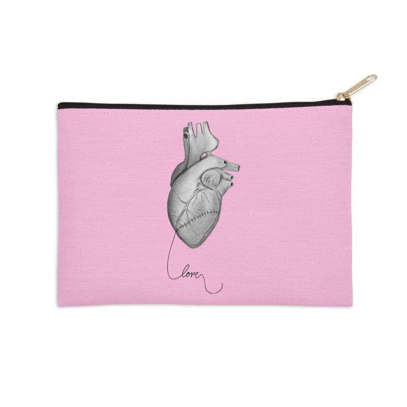 Sutures Accessories Zip Pouch by Demeter Designs Artist Shop
