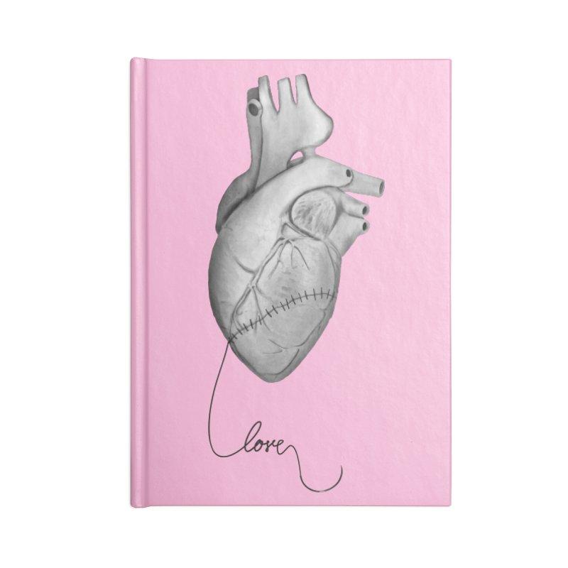 Sutures Accessories Blank Journal Notebook by Demeter Designs Artist Shop