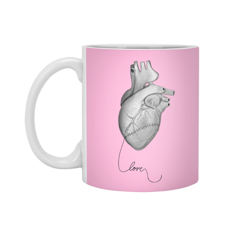 Sutures Accessories Standard Mug by Demeter Designs Artist Shop