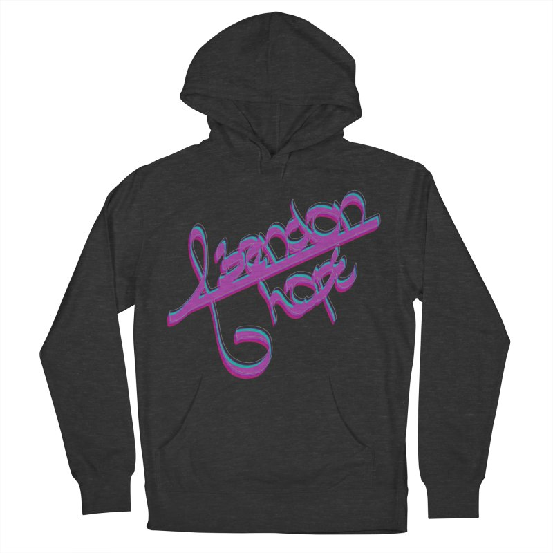 Abandon Hope Men's French Terry Pullover Hoody by Demeter Designs Artist Shop