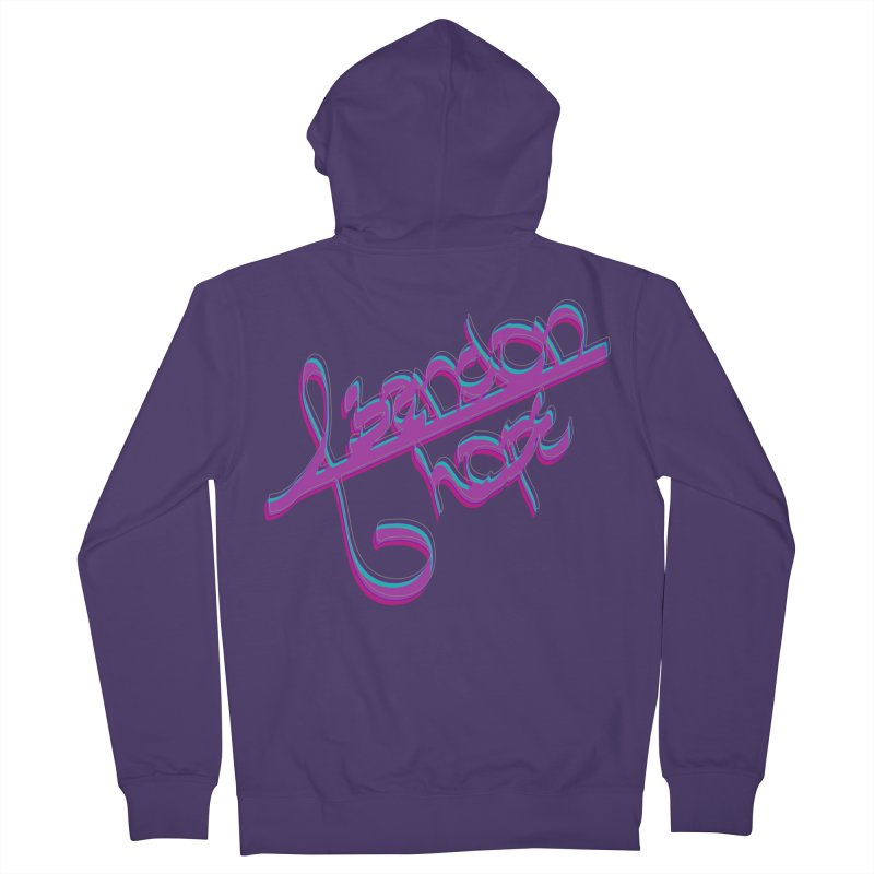 Abandon Hope Women's French Terry Zip-Up Hoody by Demeter Designs Artist Shop